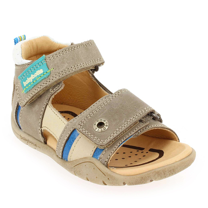 Chaussure Babybotte modèle TOMI, Taupe - vue 0