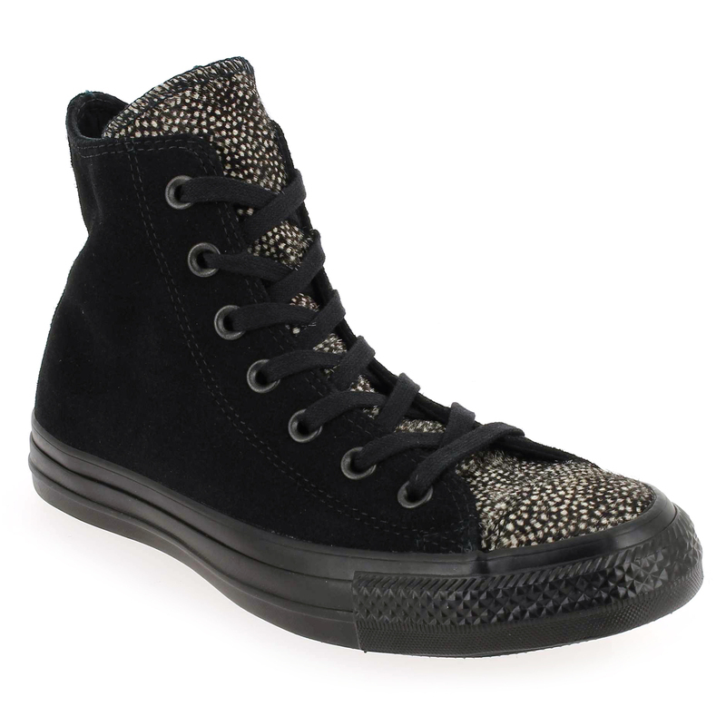 Baskets Converse Chuck Taylor All Star High Classic Noir Femme