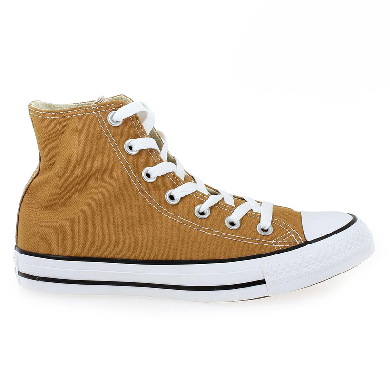 Chaussure Converse CHUCK TAYLOR ALL STAR HI camel couleur Camel - vue 1