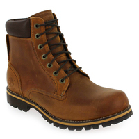 Chaussure Timberland modèle RUGGED 6 IN PLAIN TOE WP, Cognac - vue 0