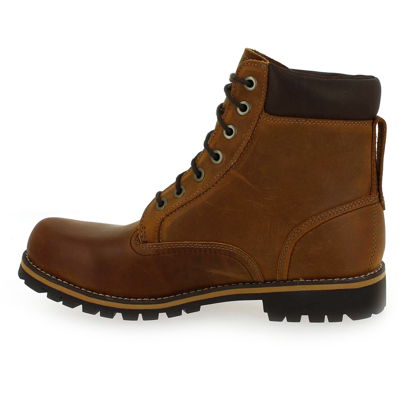5326401 6 Wp Pour Cuir Chaussure In Homme Bottines Timberland Cuir Rugged Camel Nubuck Plain Toe nqnFU18W