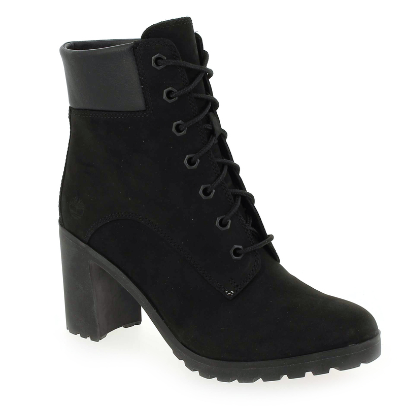 6in 02 5326502 Chaussure Femme Lace Chaussures Up Timberland Pour Réf53265 Noir Allington thdBsQxCor