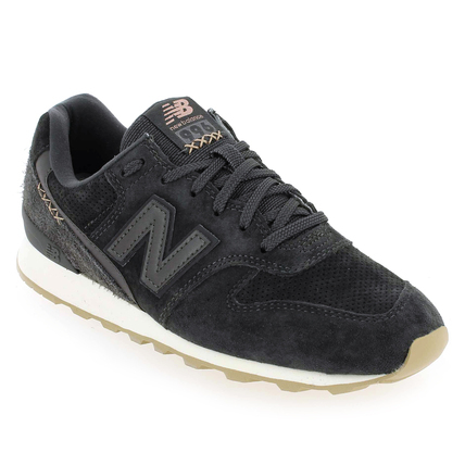 Chaussure New Balance modèle WR996, Anthracite - vue 0