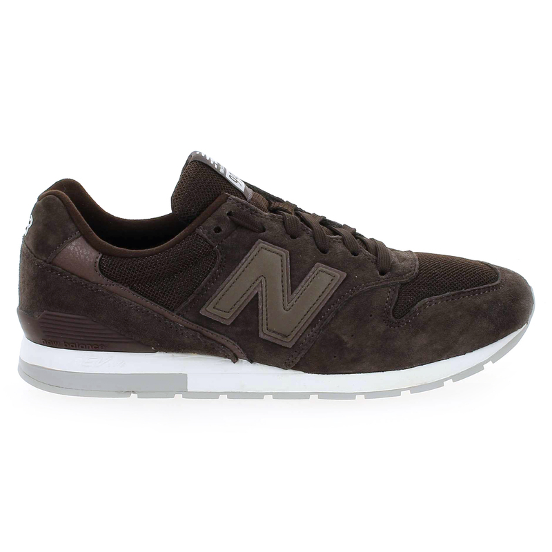 Chaussure New Balance MR996 marron couleur Marron - vue 1