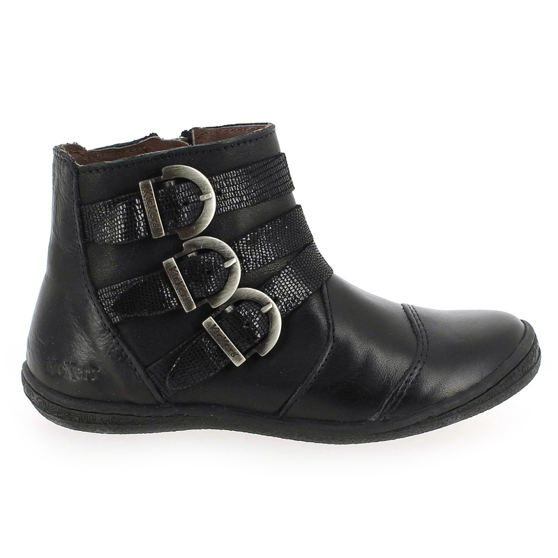 Chaussures Enfant Kickers Pour Calina 5329201 Fille Réf53292 Noir Chaussure 01 Yfyb7gIv6