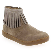 Chaussure Shoopom modèle PLAY FRINGE, Beige - vue 0