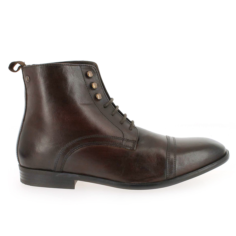 Chaussure Base London CLAYTON marron couleur Marron - vue 1