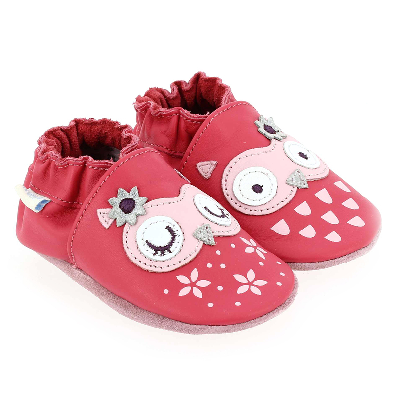 Chaussure Robeez SNOWY OWL rose couleur Rose - vue 0