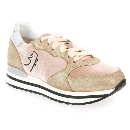 Chaussure Primabase modèle 34501, Rose beige  - vue 0