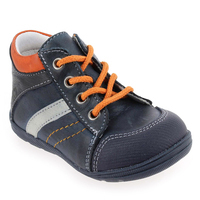 Chaussure Bellamy modèle INDEX, Marine Orange - vue 0