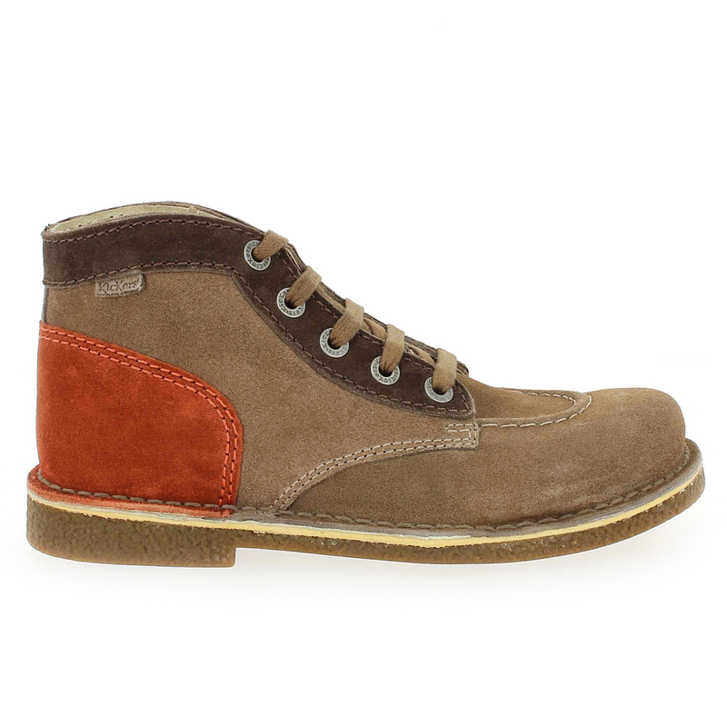 Chaussure Kickers LEGENDOK NEW Marron couleur Marron Orange - vue 1