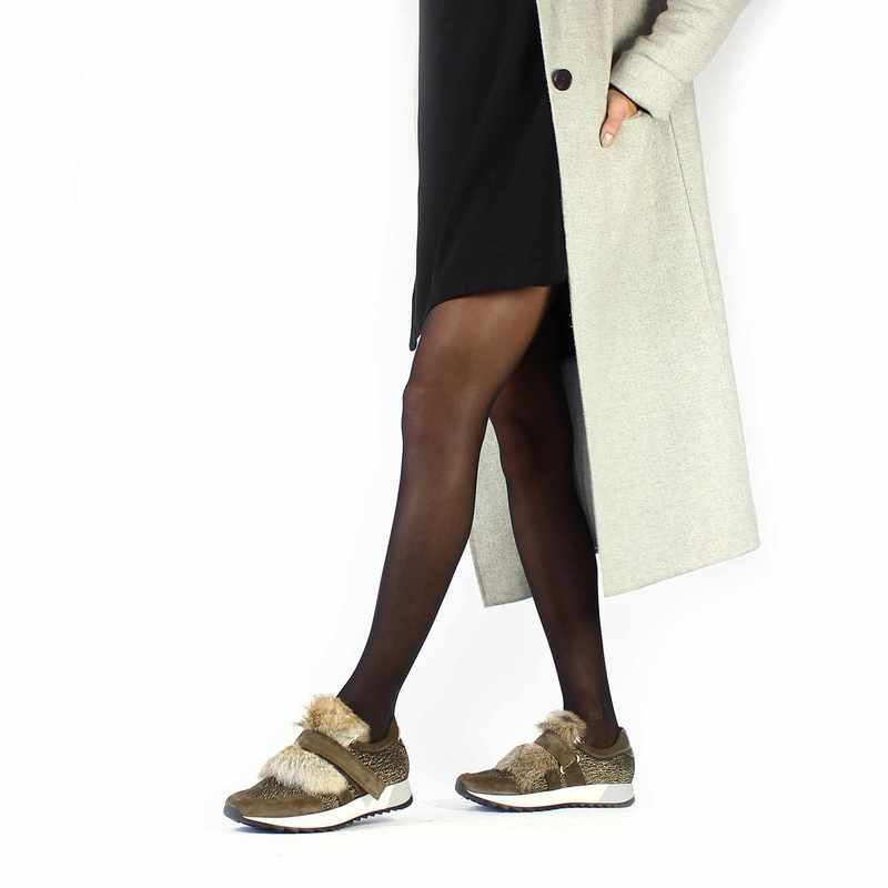 Chaussure Kanna 7710 CHELO Marron couleur Taupe Or - vue 0