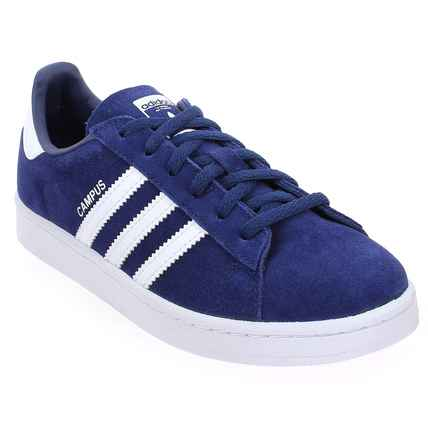 wholesale dealer 6c556 c90dd Chaussure Adidas Originals modèle CAMPUS, Marine - vue 0