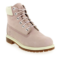 Chaussure Timberland modèle 6IN PREMIUM WP BOOT, Rose poudré - vue 0