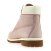 Chaussure Timberland modèle 6IN PREMIUM WP BOOT, Rose poudré - vue 3