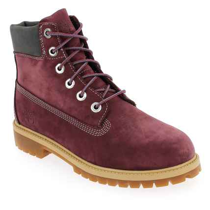 Chaussure Timberland modèle 6IN PREMIUM WP BOOT, Bordeaux - vue 0