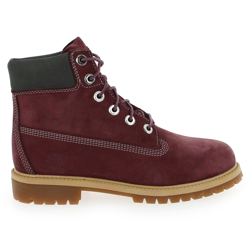 Chaussure Timberland 6IN PREMIUM WP BOOT Rouge couleur Bordeaux - vue 1
