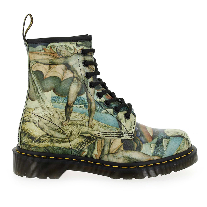 Chaussure Dr Martens 1460 WILLIAM BLAKE multi couleur Multi - vue 1