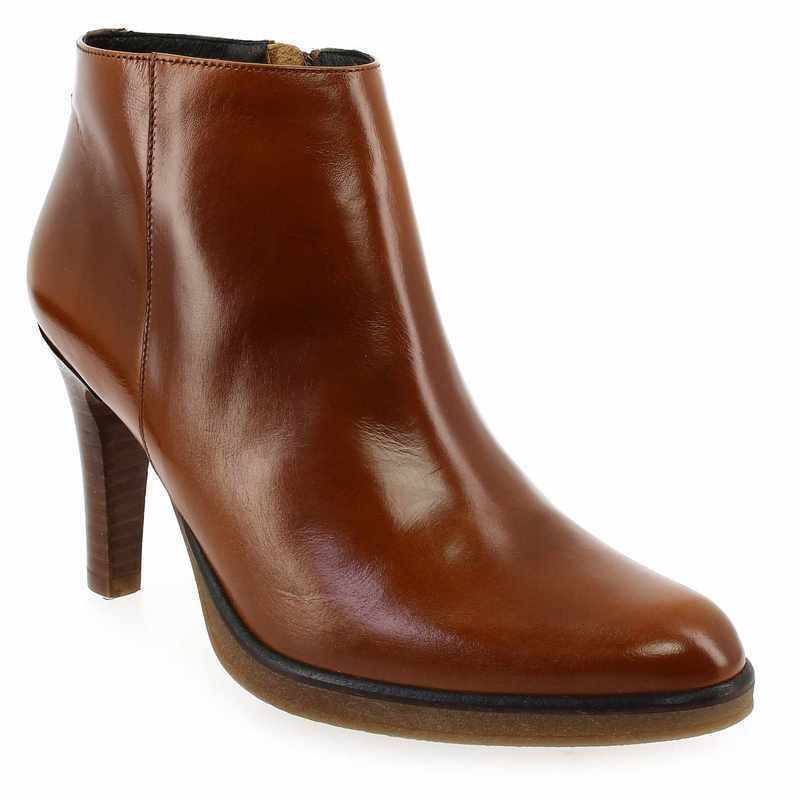 Boots Femme Janie Philip MAX camel Femme