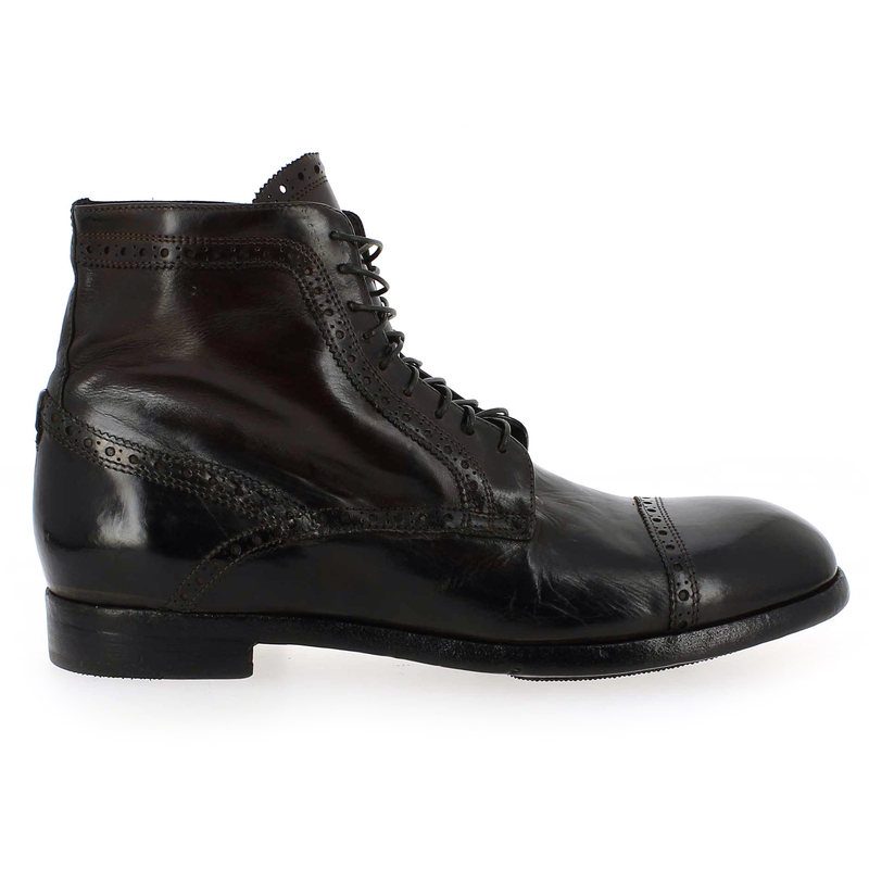Bottines Homme Lemargo en Cuir Marron
