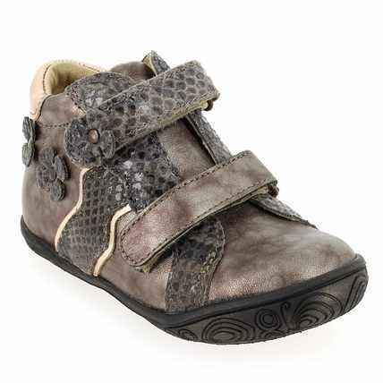 Chaussure Babybotte modèle ANELINE, Taupe - vue 0