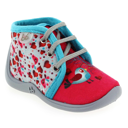 Chaussure Babybotte modèle MAMOUT, Rose Turquoise - vue 0