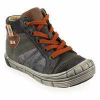 Chaussure GBB modèle NORBERT, Anthracite Orange - vue 0