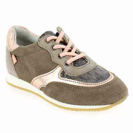 Chaussure Babybotte modèle KAVALKAD, Taupe Cuivre - vue 0