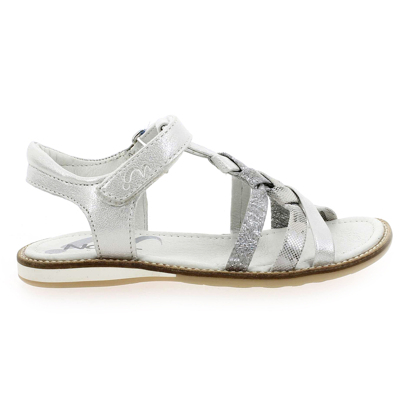 Enfant Argent pour fille 5462601 STRASSY Chaussure Noël Kids PqwRAA7O