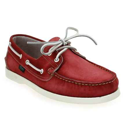 Chaussure Paraboot modèle BARTH, Rouge Rubis - vue 0