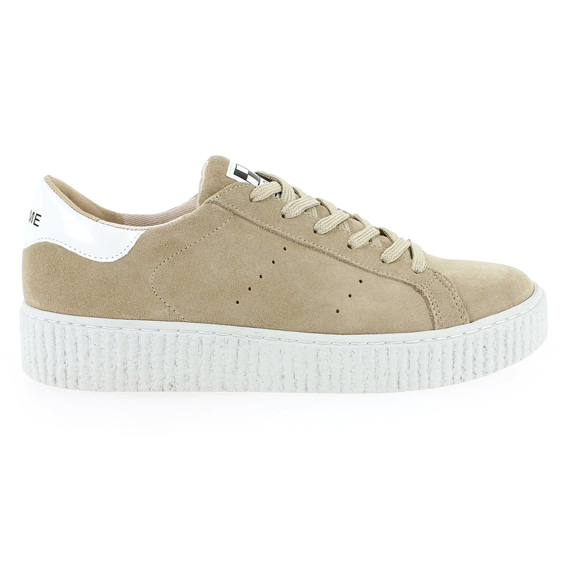 Chaussure No Name PICADILLY SNEAKER beige couleur Beige - vue 1
