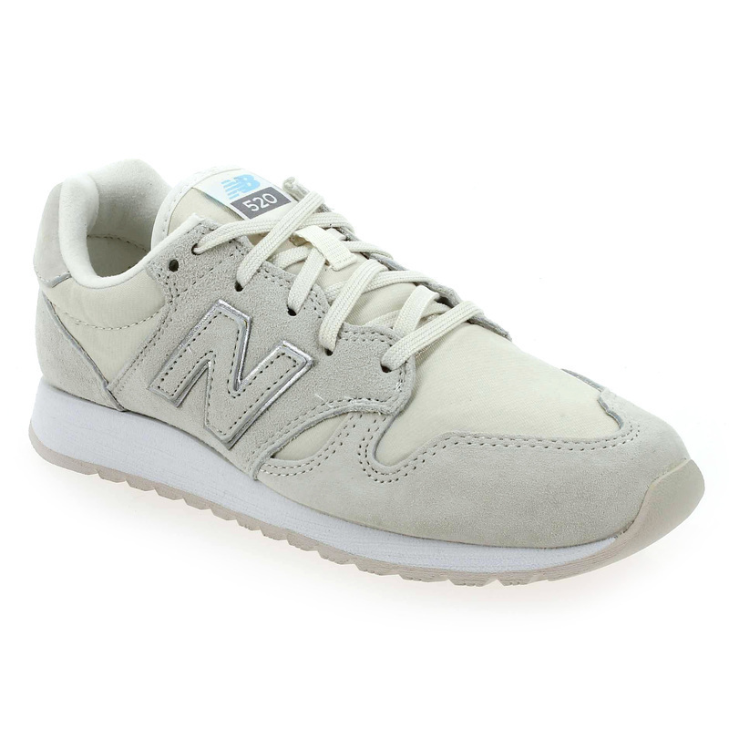 new balance blanche et or