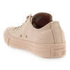 Chaussure Converse modèle CHUCK TAYLOR  ALL STAR OX MONO, Nude - vue 3