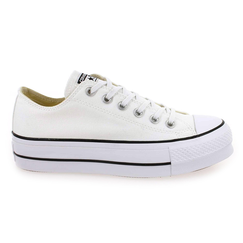 2510762f1f9 Chaussure Converse CHUCK TAYLOR ALL STAR LIFT OX Blanc 5475301 pour Femme  ...