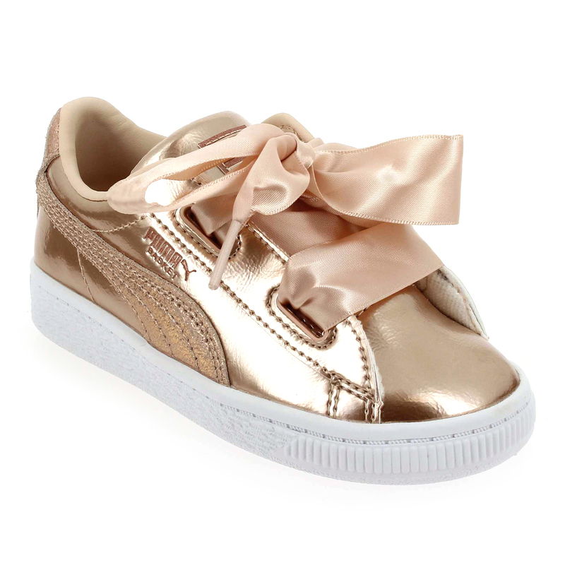basket puma rose fille