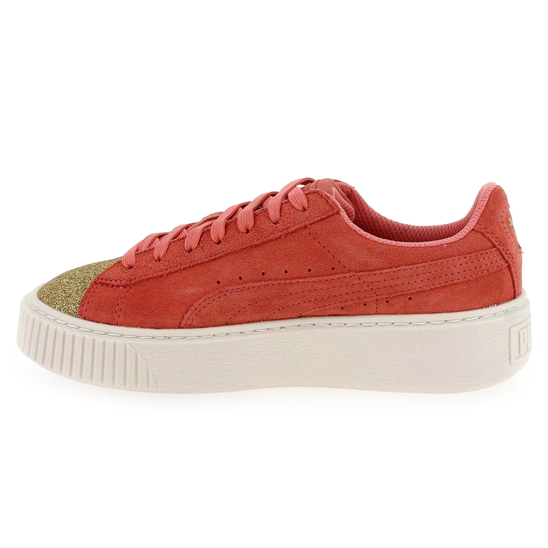 Puma Basket Platform VS Baskets pour Femme Rose