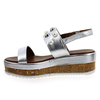 Chaussure Inuovo modèle 8845, Argent - vue 2