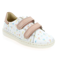 Chaussure Shoopom modèle DUCKY SCRATCH, Blanc Rose - vue 0