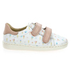 Chaussure Shoopom modèle DUCKY SCRATCH, Blanc Rose - vue 1