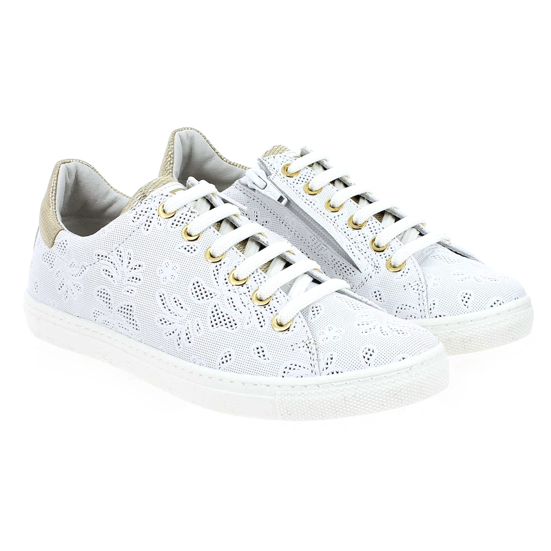 Chaussure Ciao 3725 27 Blanc couleur Blanc Or - vue 0