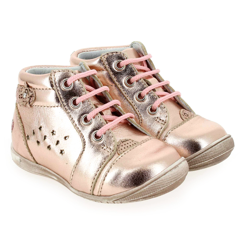 Chaussure GBB SIDONIE rose couleur Rose Cuivre - vue 0