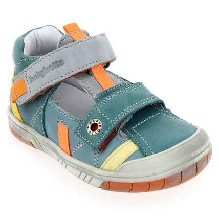 Chaussure Babybotte modèle STEPPE, Turquoise Multi  - vue 0
