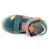 Chaussure Babybotte modèle STEPPE, Turquoise Multi  - vue 4