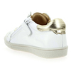 Chaussure Babybotte modèle KUIZY, Blanc Or - vue 3
