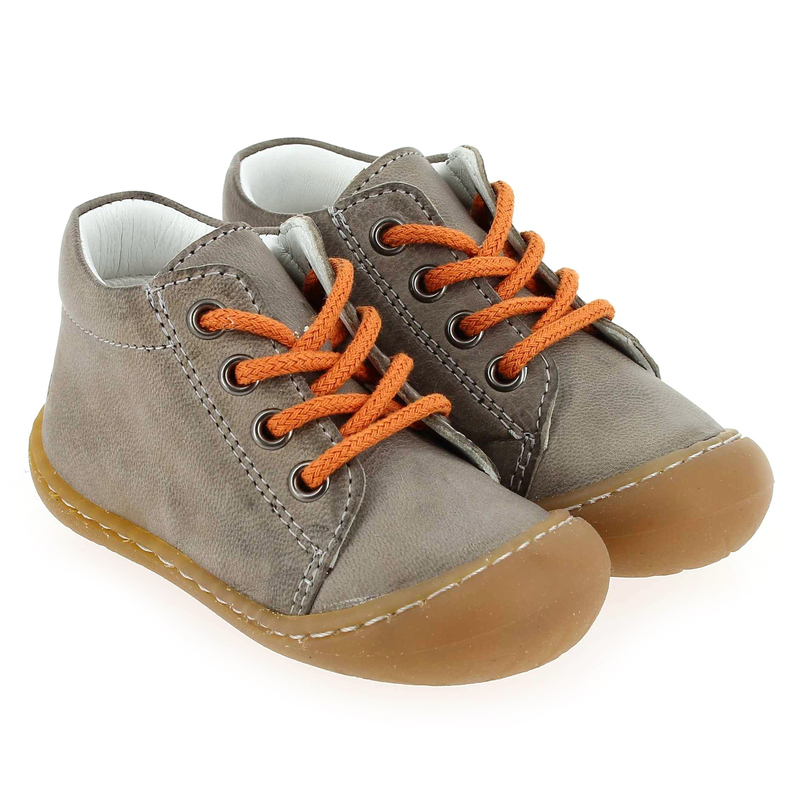 Chaussure Bellamy NEPAL Gris couleur Taupe Orange - vue 0