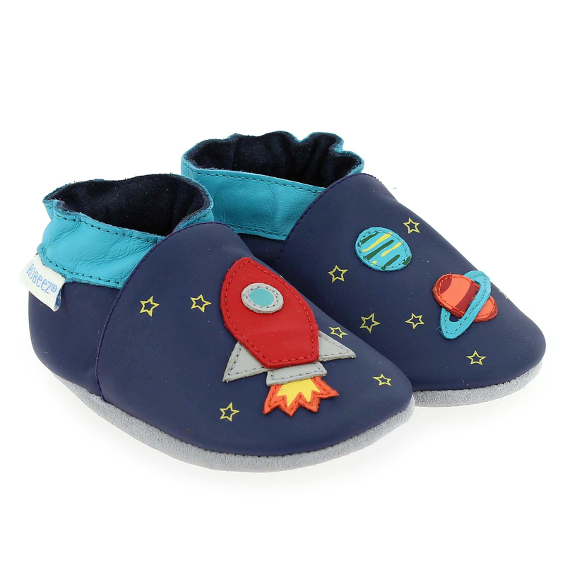 Chaussure Robeez SKY DISCOVERY Bleu couleur Marine Multi - vue 0