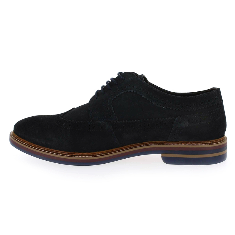 Base London Chaussures À Lacets « Turner » Marine 3a2b7