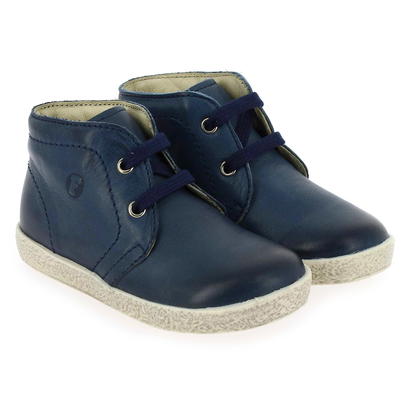 Chaussure Falcotto by Naturino 1195 Bleu couleur Marine - vue 0