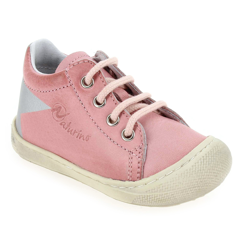 Chaussures basses Blanc en Cuir Falcotto by Naturino - Soldes yHiLbLaa