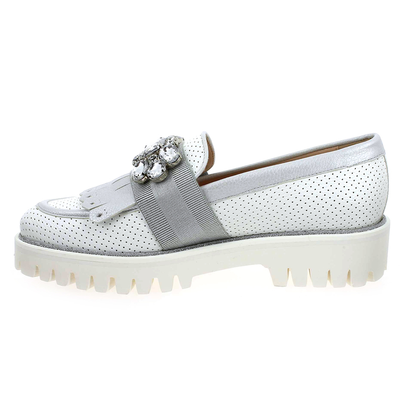 Pertini Chaussures 01 181w14626d6 Réf55321 Chaussure 5532101 Blanc Femme Pour EDeW92YHI